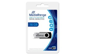 MEDIA RANGE USB FLASH DRIVE 16GB